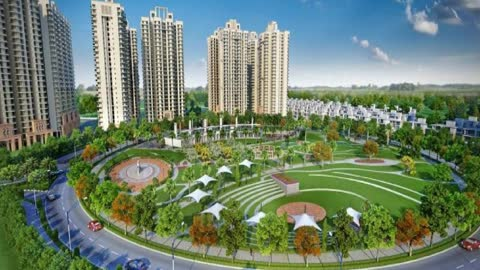 Gaur Yamuna City Modern Housing Township Greater Noida