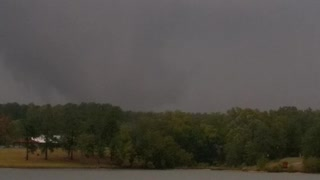 Tornado on Lake Greenwood? - Video