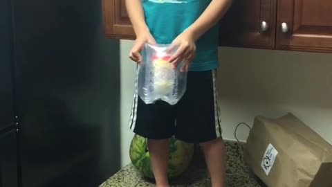 Egg Drop Challenge Goes Right, Then Very Wrong
