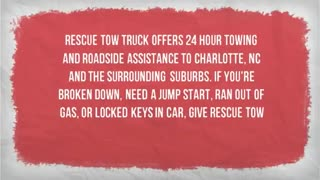 tow truck service - Video