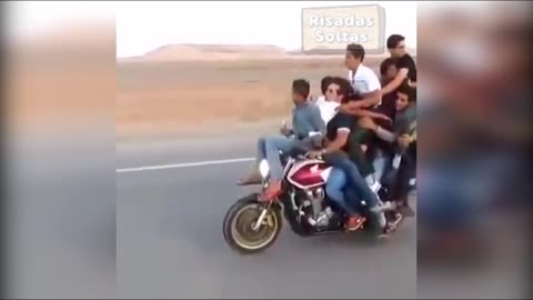 When i decido do go out with my all friends on my moto