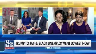 Diamond and Silk Blast Jay Z's Dismissal of Trump's African American Unemployment Numbers - Video