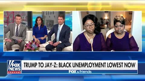Diamond and Silk Blast Jay Z's Dismissal of Trump's African American Unemployment Numbers