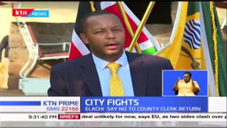 Wrangles within the Nairobi City County Government continue