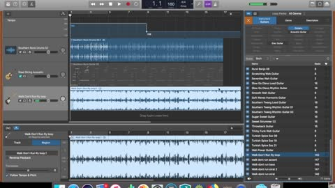 How To Use The Tempo Track In Garage Band. [ Quick and Easy way to adjust the tempo on one Track