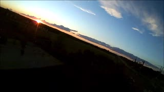 Sunset Drone Flight  - Video