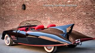 Original Batmobile fetches $137,000 (USD) at auction - Video