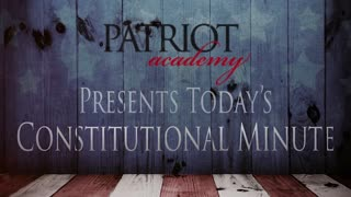 Today's Constitutional Minute Covers the Phrase that Could Determine Presidency.