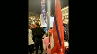 Huntington Beach PATRIOTS Chant In The Streets - Stop the Steal!