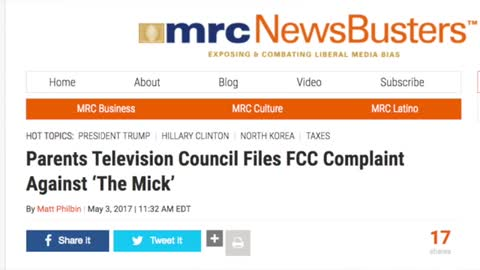 PTC files FCC complaint against THE MICK - Warning VULGAR! 5-4-17
