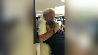 Son With Down Syndrome Has Heartwarming Reunion With Dad