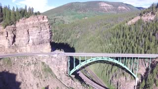 Drone capta de forma espectacular la majestuosa belleza de Colorado - Video