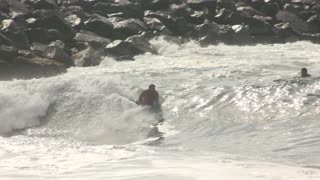 The Wedge Backwash in Slow Motion 9/8/16 - Video
