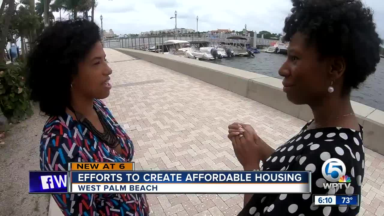 Efforts to create affordable housing