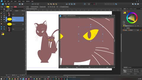 Affinity Designer Basics - Part 5 - The Select View Window Menu ( 5 of 6 )