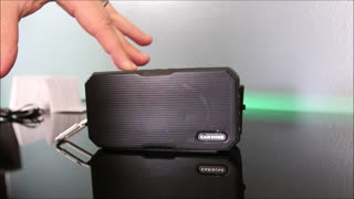 Kingland Waterproof Mini Bluetooth Speaker Review - Video
