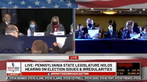 Election Fraud - Pennsylvania State Legislature