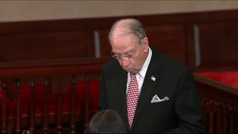 Grassley Goes After Democrats On Senate Floor — Gives Full Picture
