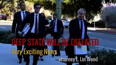 DEEP STATE WILL BE DEFEATED - Attorney Lin Wood