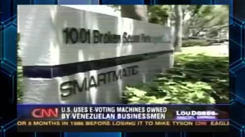 CNN in 2006 on smartmatic, Hugo Chavez, and election fraud