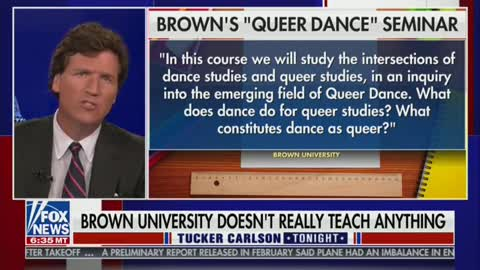 Tucker Carlson Slams Brown University For Voting For Reparations