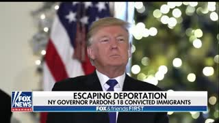New York Gov. Cuomo Pardons 18 Immigrants Facing Deportation - Video