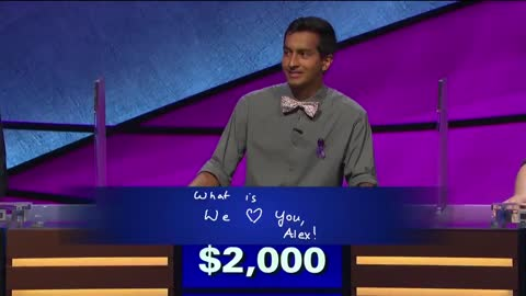 Alex Trebek Fights Back Tears As Contestant Answers Question To Host Amid Cancer Battle [WATCH]
