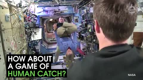 This Is What Astronauts Do For Fun