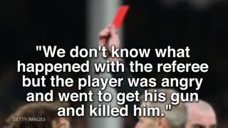 Soccer Ref Murdered By Player in Argentina - Video
