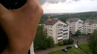 Tornado in Russia on August 24, 2016