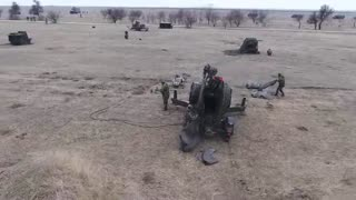 Romania Sends Anti-Aircraft Guns To Poland • Live Fire Demo - Video