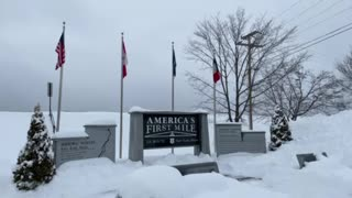 America's first mile. Fort Kent.