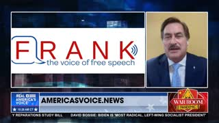 Mike Lindell Talks Vaccines and His New Social Media Platform 'Frank'