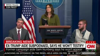 CNN's Jim Acosta Whines That WH Didn't Call on Him — Sanders Responds With a Knockout Punch - Video