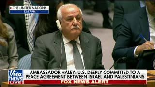 After Jerusalem Decision, Nikki Haley Blames UN For Damaging Prospects of Mideast Peace - Video