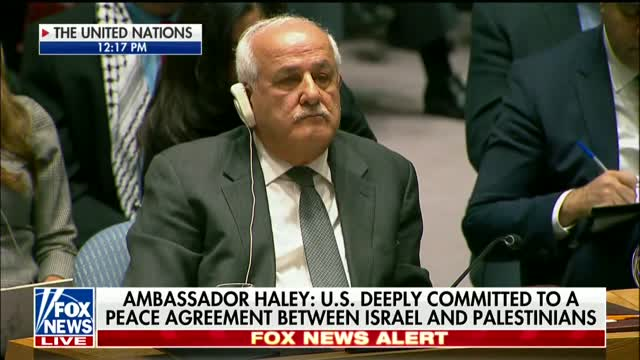 Nikki Haley Un Us Rejects Lectures On Israel Palestine