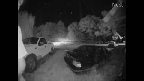 Car Swerves and Hits House at High Speeds