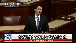 Ryan Remarks, House Republicans Pass Final Version of Tax Reform - Video