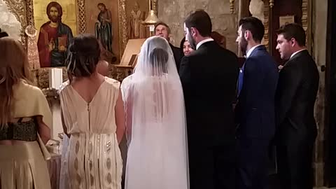 Bat flies into church during wedding ceremony
