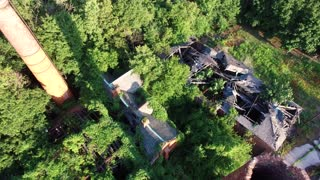 Drones Explore Abandoned Off-Limits NYC Island - Video