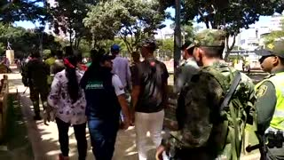 Venezolanos indocumentados en parques de Bucaramanga - Video
