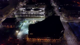 Drone Footage of Raleigh Apartment Fire - Video