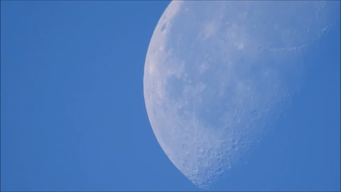 See Through The Morning Moon!