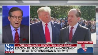 Chris Wallace questions Acosta resignation