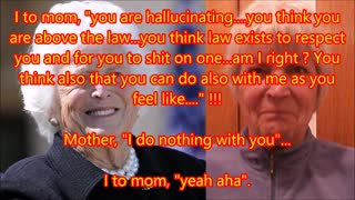 2 of 3 Mother competed in evil with mother of George Bush - Barbara Bush senior - Video