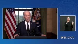 Biden Announces He's Withdrawing Troops From Afghanistan