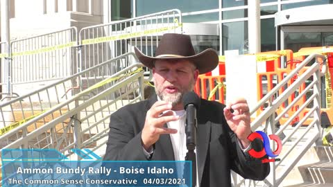 Ammon Bundy Full Speech At Ada County Court House In Boise Idaho