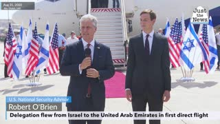 U.S.-Israeli delegation flies to United Arab Emirates as key step in historic normalization deal