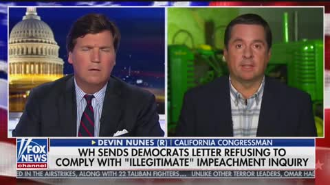 Tucker Carlson talks to Devin Nunes about his Twitter lawsuit