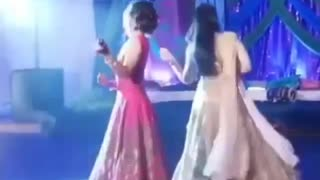 Indian dance in wedding party 2019